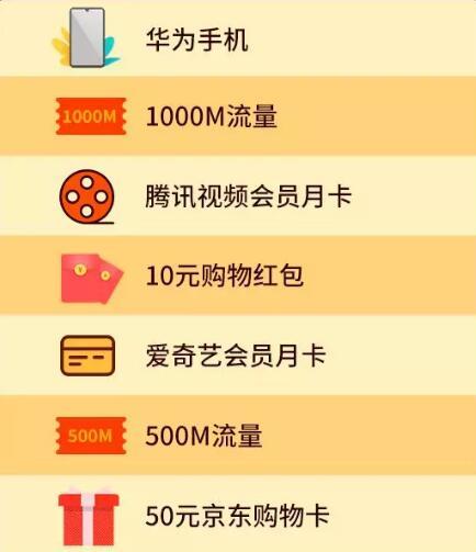 中国联通至少500M流量还有爱奇艺、腾讯视频VIP